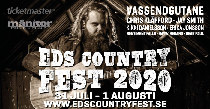 Eds Countryfest 31 juli 2020